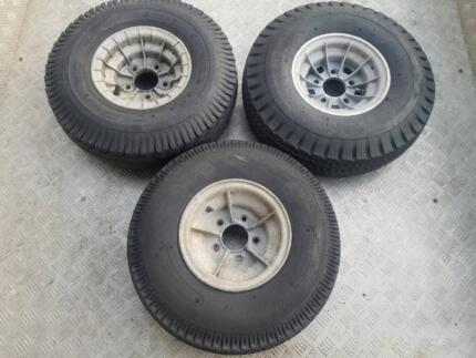 ALLOY BOAT TRAILER WHEELS AND TYRES 5 STUD 5x108 PCD 3 OF 9x4.5