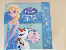 Frozen Storybook Library 5 Book Set (Hardcover)
