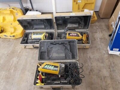 Laser Alignment - Gr Beam 2 R Beam 1 Pipe Lasers With Cases 100 Tested