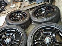 Bmw 17 INCH ALLOYS WHEELS - 5X120 - GENUINE BMW WHEELS