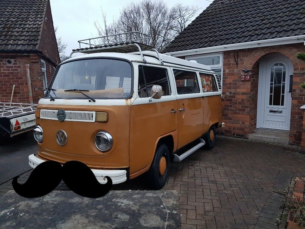 1976 bay VW campervan