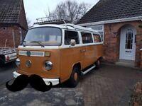 1976 bay VW campervan