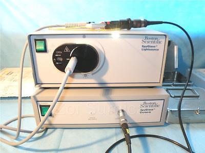 Boston Scientific Spyglass Camera Light Source System Complete W Head Probe