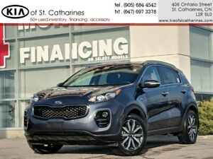 2019 Kia Sportage EX AWD | Leather | Climate Control | 7 Display