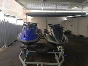Double Yamaha Jetskis on Tandem trailer West Perth Perth City Area Preview