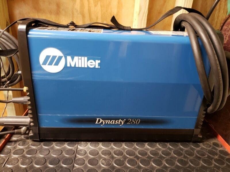 Miller Dynasty 280 dx tig / stick welder