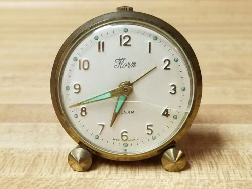Vintage Florn Travel Alarm Watch/Clock - Made in West Germany