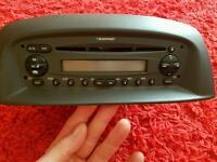 Cd radio player