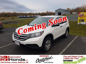 2013 Honda CR-V LX Honda Certified! Backup Camera! Bluetooth! He