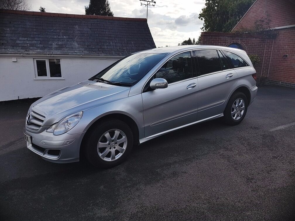 mercedes r 280 6 seater family car meticulously maintained low mileage for year in markfield. Black Bedroom Furniture Sets. Home Design Ideas