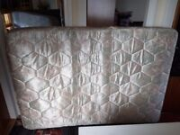 CLEAN STAIN FREE DOUBLE BED MATTRESS