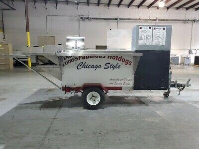 Custom Built Hot Dog Cart Trailer
