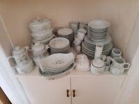 100+ piece Porcelain Dinner Set