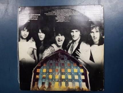 KROKUS ONE VICE AT A TIME 1982 AUSTRALIAN PRESS LP