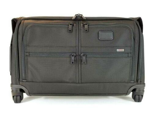 New TUMI Alpha 2 Carry-On 4 Wheel Garment Bag Black FXT Ballistic Nylon 22038D2