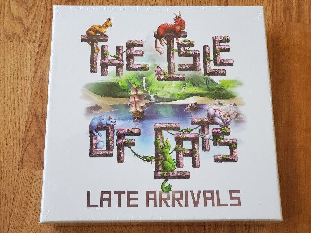 The Isle of Cats: Late Arrivals Expansion Board Game Brand New Sealed