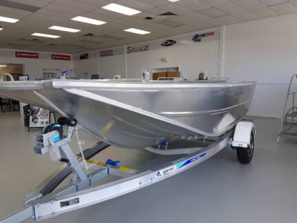 2018 Quintrex F440 Hornet 40hp Mercury Alloy Trailer