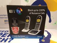 BT CORDLESS HOUSEPHONES - BRAND NEW