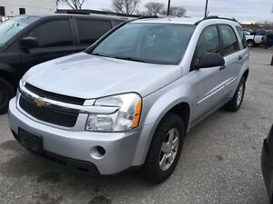 2009 Chevrolet Equinox LS SUV One owner Sivler 178,000km