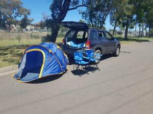 4wd mazda,a year rego slip,free camping equipments,bed