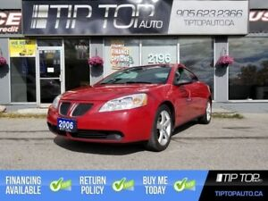 2006 Pontiac G6 GTP ** 3.9L V6, Manual, Leather, No Accidents **