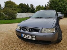 Audi A3, Sport, 1.6 petrol engine, automatic.