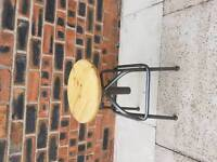 Dunhelm mill ibdustrial style adjustable stool
