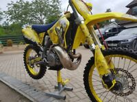 Suzuki RM 250 Motocross Motor bike RM250 bike not Honda Kawasaki KTM