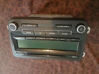 VW golf sound system radio original mk5 mk6 for sale