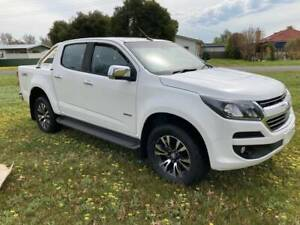 2017 HOLDEN COLORADO LTZ CREW CAB UTILITY, 2.8 T/DIESEL, MANUAL, 4X4 Holbrook Greater Hume Area Preview