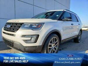2016 Ford Explorer Sport 400A 3.5L Ecoboost AWD with Remote Star
