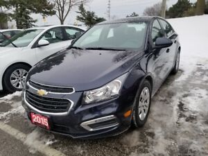 2015 Chevrolet Cruze 1LT REMOTE START, REAR CAMERA, TURBO FUE...
