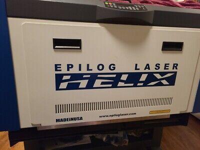 Epilog Helix Laser Co2 Engraving Cutting Marking Machine 75w 24x18