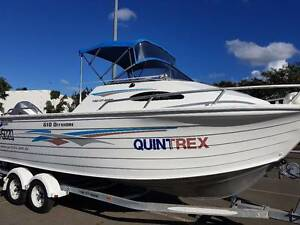 2004 Quintrex 610 Offshore Honda 150hp ONLY 260.2 Hours Pialba Fraser Coast Preview
