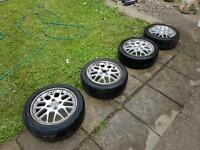 "BBS RX2 15"" 4x100 (VW, Polo, GTI) Alloy Wheels"