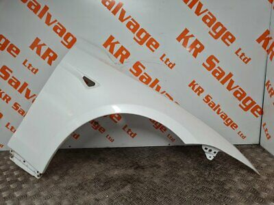 2015-ON TESLA MODEL S DRIVER OFF SIDE FRONT WING FENDER PANEL PEARL WHITE