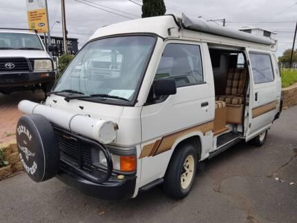 1987 Nissan Urvan SAFARI Poptop Campervan ***VERY LOW K's*** Gilles Plains Port Adelaide Area Preview