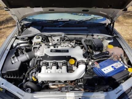 2001 Holden Vectra Sedan Bargan 5 Months Rego Car Overheats