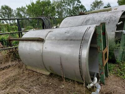 1023 Gallon Heavy-wall Stainless Steel Mix Tank