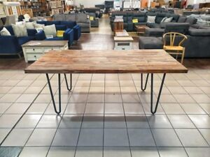 CASSEY DINING TABLE SEESHAM / IRON Ascot Brisbane North East Preview