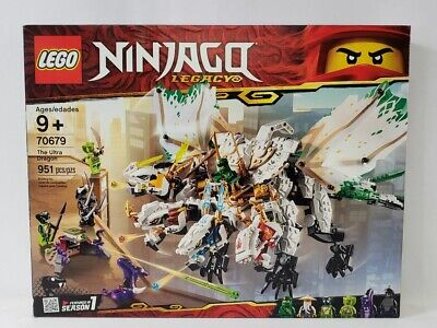 Lego Ninjago Legacy The Ultra Dragon Building Toy 951pcs 70679