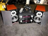 Tibo Stereo system. With Digital Radio & CD player