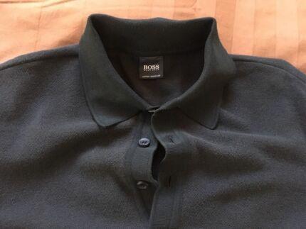 Hugo Boss Men's Black Polo Shirt