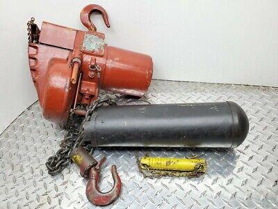 1 Ton Capacity Yale Midget King Electric Chain Hoist Ml505rph C