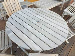 Teak Table and Chairs Seaforth Manly Area Preview