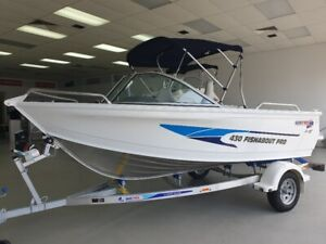2021 430 Quintrex Fishabout Pro 60 Mercury EFI Alloy trailer All NEW Pialba Fraser Coast Preview