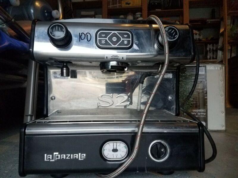 la spaziale espresso machine s2 group