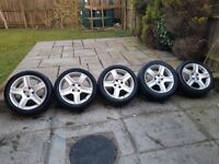 Peugeot Vortex Alloys Wheels set of 5! 4x108 (Partner / Berlingo)