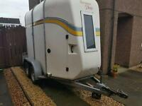 Bateson Derby horse box trailer. Lightweight