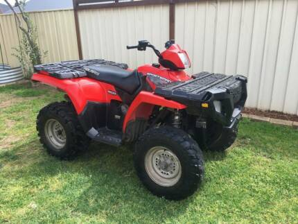 POLARIS SPORTSMAN 450 HO 4X4 - 2007 MODEL Fulham West Torrens Area Preview